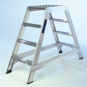 Double Sided Aluminium Safety Steps