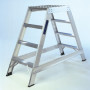 Double Sided Aluminium Safety Steps