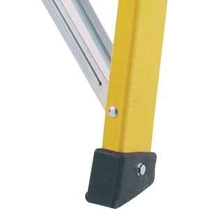 Abru Promaster Glass Fibre Builders Swingback Step Ladders with non slip feet