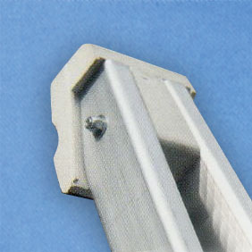 Our Alumunium Window Cleaners Pointers are supplied with a white rubber top