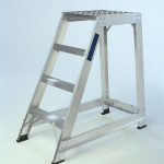 Single Sided Aluminium Safety Steps