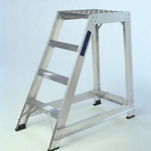 Single Sided Aluminium Safety Steps
