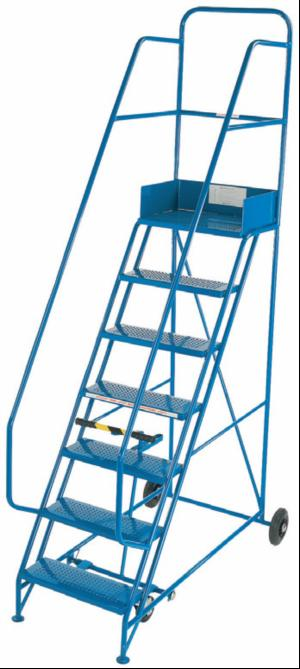 Steel Mobile Safety Steps Hulley Ladders