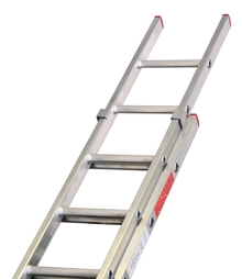 DIY Double Aluminium Extension Push up Ladder