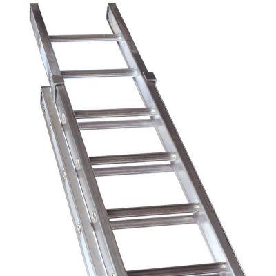 Class 1 Aluminium Industrial Double Extension Ladders