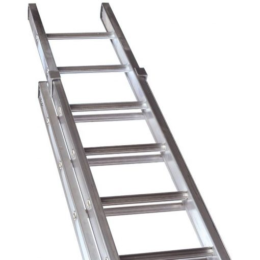 Class 1 Aluminium Industrial Double Extension Ladders