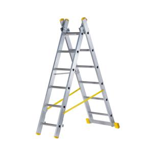 Double Box Section Aluminium Reform Ladder