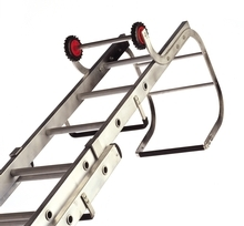 Double Section Aluminium Trade Roof Ladders