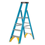 Industrial Glass Fibre Platform Step Ladders