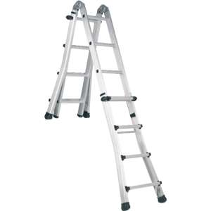 Abru Promaster Telescopic Combination Stairs Ladders
