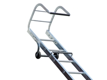Single Section Aluminium Trade Roof Ladders