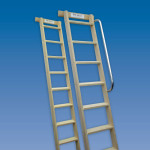 Timber Shelf Ladders