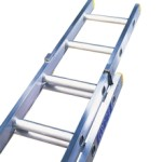 Double Extension Trade Aluminium Ladders