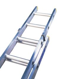 Double Extension Trade Aluminium Ladders
