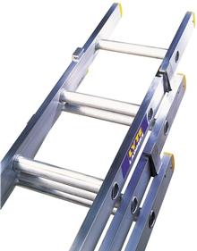 Triple Section Aluminium Trade Extension Ladder