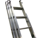 Class 1 Industrial Aluminium Triple Extension Ladders