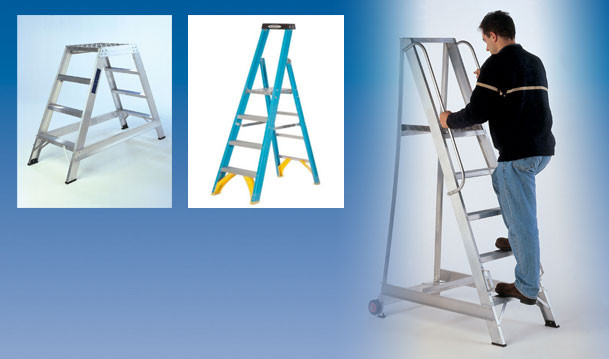 Safety Steps and Step Ladders