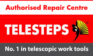 Hulley Ladders are an Authorised Repair Centre for Telesteps products