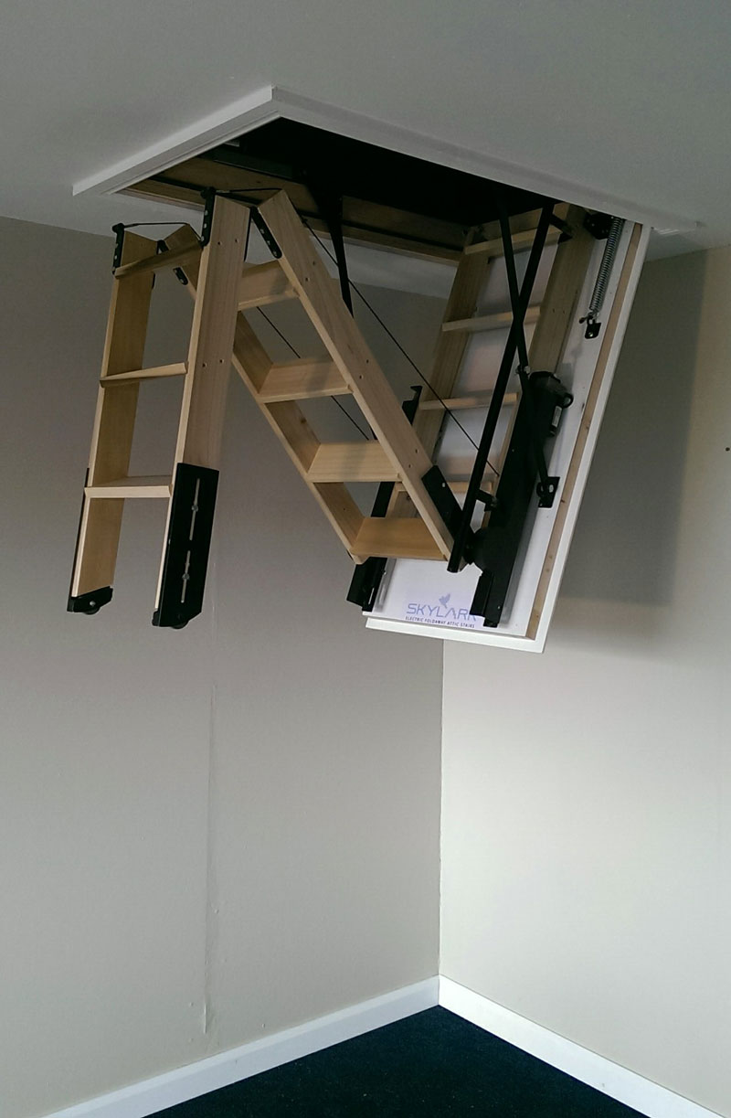 Skylark Electric Loft Ladder Hulley Ladders