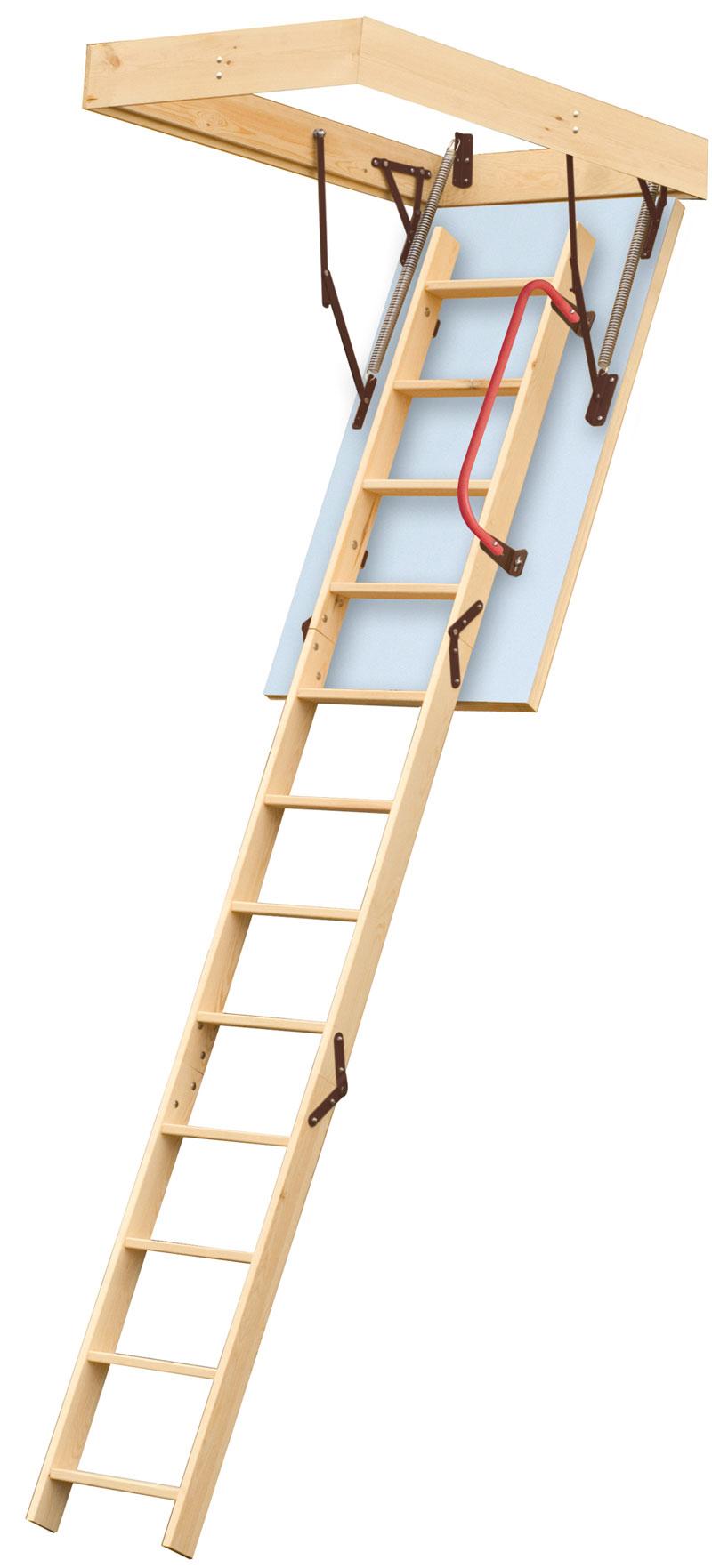 Lyte Timber Loft Ladder Hulley Ladders