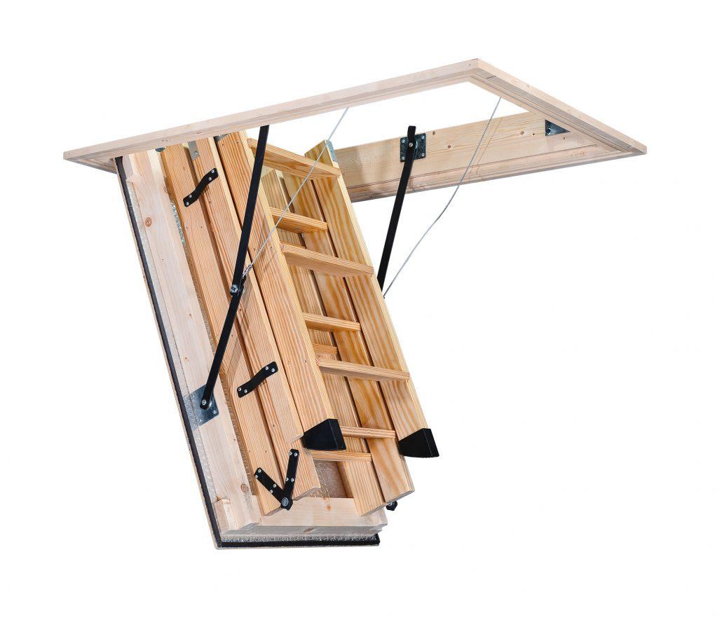 Stira Semi Automatic Loft Ladder Hulley Ladders